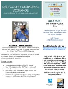 East County Marketing Exchange (ECME) @ Online Meeting | Clackamas | Oregon | United States