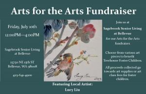 Arts for the Arts Fundraiser @ Sagebrook Senior Living at Bellevue, Washington   Bellevue   Washington   United States