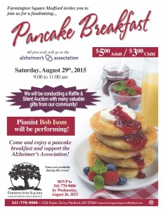 Pancake Breakfast @ Farmington Square Backyard of Cottage D  | Medford | Oregon | United States