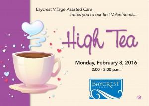 Valendfriends High Tea @ Baycrest Village Assisted Care | North Bend | Oregon | United States