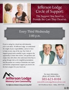 Circle of Support @ Jefferson Lodge Memory Care | Dallas | Oregon | United States