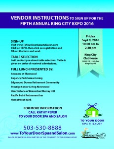 King City EXPO @ King City Clubhouse | King City | Oregon | United States