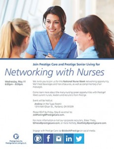 Networking With Nurses @ Andina  | Portland | Oregon | United States