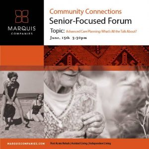 Advanced Care Planning Forum @ Marquis Tualatin Assisted Living | Tualatin | Oregon | United States