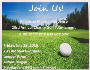 American Medical Response 23rd Annual Charity Golf Tournament @ Langdon Farms Golf Course | Aurora | Oregon | United States
