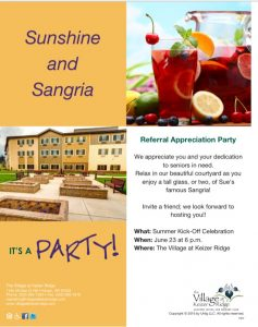 Sunshine and Sangria @ Referral Appreciation Party | Keizer | Oregon | United States