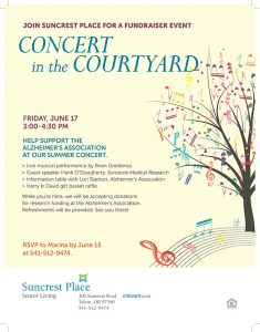 Concert in the Courtyard @ Suncrest Place | Talent | Oregon | United States