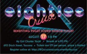 80's Cruise - Benefiting Puget Sound Honor Flight @ My Girl Charter Yacht | Tacoma | Washington | United States