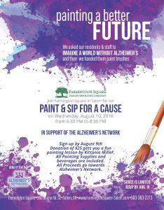 Paint and Sip for a Cause @ Farmington Square in Salem | Salem | Oregon | United States