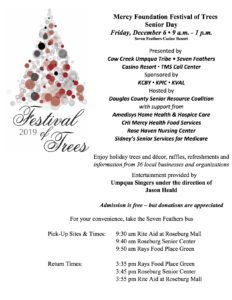 2019 Annual Festival of Trees @ Seven Feathers Casino Resort | Canyonville | Oregon | United States