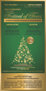 2021 Annual Festival of Trees Virtual Event @ Online | Canyonville | Oregon | United States