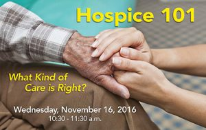 Emerald Gardens presents Hospice 101 @ Emerald Gardens Assisted & Memory Care | Woodburn | Oregon | United States
