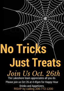 """No Tricks, Just Treats!"" @ The Lakeshore Retirement Community | Seattle | Washington | United States"