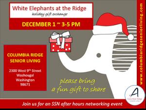 White Elephants at the Ridge @ Columbia Ridge Senior Living | Washougal | Washington | United States