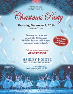 Ashley Pointe's Christmas Party @ Ashley Pointe | Lake Stevens | Washington | United States
