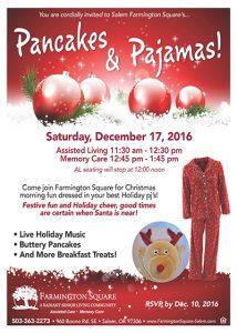 Farmington Square Salem's Pancakes and Pajamas @ Farmington Square Salem | Salem | Oregon | United States