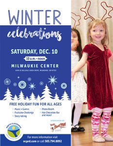 Winter Celebrations at the Milwaukie Center @ Milwaukie Center | Milwaukie | Oregon | United States