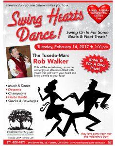 Swing Hearts Dance @ Farmington Square Salem   Salem   Oregon   United States