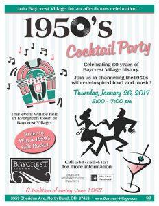 1950's Cocktail Party @ Baycrest Village | North Bend | Oregon | United States