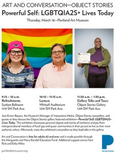Powerful Self: LGBTQIA2S+ Lives Today @ Portland Art Museum    Portland   Oregon   United States