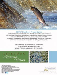 ODFW Hatchery Presentation @ The Oaks at Lebanon | Lebanon | Oregon | United States