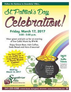 St. Patrick's Day Celebration @ Sweetbriar Villa   Springfield   Oregon   United States
