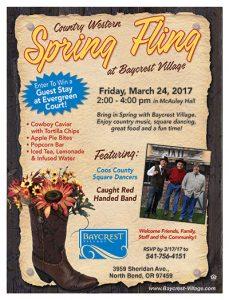 Country Western Spring Fling @ Baycrest Village   North Bend   Oregon   United States