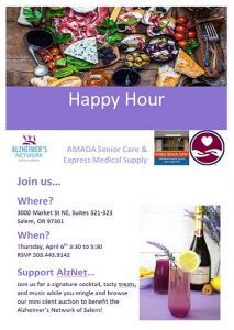 Happy Hour @ AMADA Senior Care and Express Medical Supply | Salem | Oregon | United States