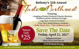 Bethany's Taste of the Northwest @ XFinity Arena - Grand Ballroom | Everett | Washington | United States