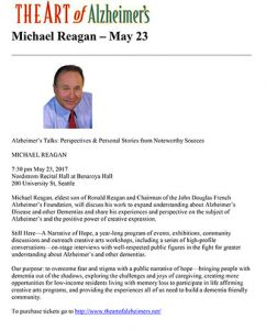 A Conversation with Michael Reagan, eldest son of Ronald Reagan @ Nordstrom Recital Hall at Benaroya Hall | Seattle | Washington | United States