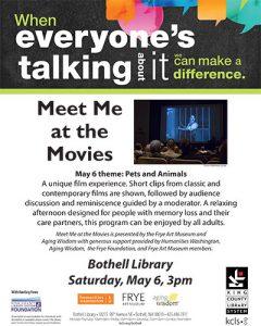 Meet Me at the Movies at KCLS Bothell @ Bothell Library | Bothell | Washington | United States