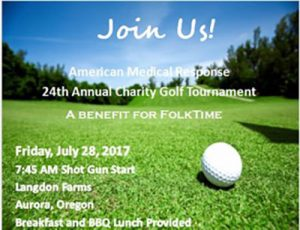 American Medical Response 24th Annual Charity Golf Tournament @ Langdon Farms | Aurora | Oregon | United States