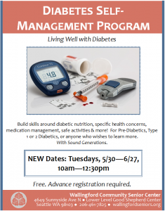 Diabetes Self-Management Program @ Wallingford Community Senior Center | Seattle | Washington | United States