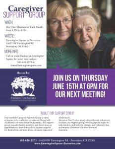 Farmington Square's Caregiver Support Group @ Farmington Square Beaverton | Beaverton | Oregon | United States