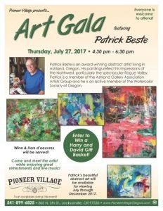 Art Gala featuring Patrick Beste @ Pioneer Village   Jacksonville   Oregon   United States