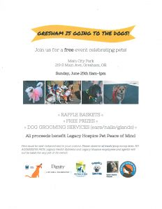 Gresham Is Going To The Dogs- Pet Peace of Mind @ Main City Park | Gresham | Oregon | United States