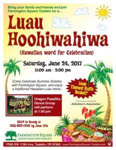 Luau Hoohiwahiwa @ Farmington Square Tualatin | Tualatin | Oregon | United States