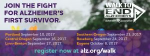 Walk to End Alzheimer's Portland New Team Kick-Off @ Portland International Raceway | Portland | Oregon | United States