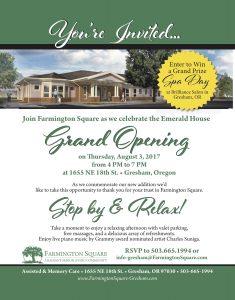 Grand Opening - Farmington Square Emerald House @ Farmington Square Gresham   Gresham   Oregon   United States