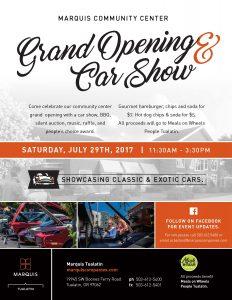 Car Show & BBQ - Marquis Tualatin @ Marquis Tualatin | Tualatin | Oregon | United States