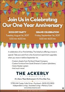 The Ackerly at Timberland's 1st Birthday Bash @ The Ackerly at Timberland | Portland | Oregon | United States