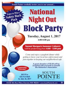 National Night Out Block Party @ South Pointe | Everett | Washington | United States
