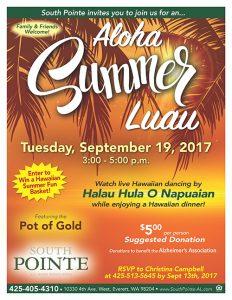 Aloha Summer Luau @ South Pointe    Everett   Washington   United States