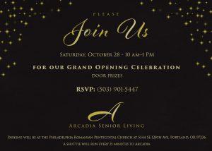Arcadia Grand Opening @ Arcadia Senior Living | Portland | Oregon | United States