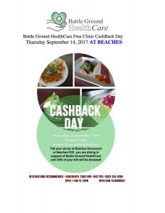 Cash Back Day at BEACHES Vancouver OR BEACHES PDX @ Beaches Vacouver | Vancouver | Washington | United States