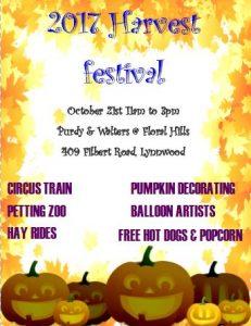 Harvest Festival @ Purdy & Walters at Floral Hills | Lynnwood | Washington | United States