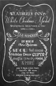 """White Christmas Market"" hosted by Weatherly Inn @ Weatherly Inn 