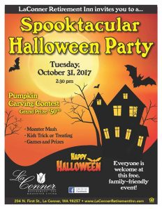 """""""Halloween Party"""" hosted by La Conner Retirement Inn @ La Conner Retirement Inn 