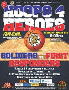 Hoops 4 Heroes @ Pierce College Fort Steilacoom | Lakewood | Washington | United States