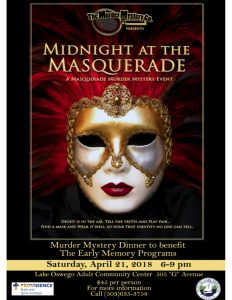 Midnight at the Masquerade Fundraising Event @ Lake Oswego Adult Community Center | Lake Oswego | Oregon | United States